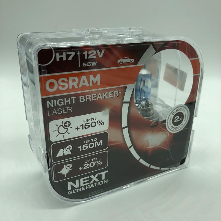 Osram Night Breacker LASER 2er Set H7