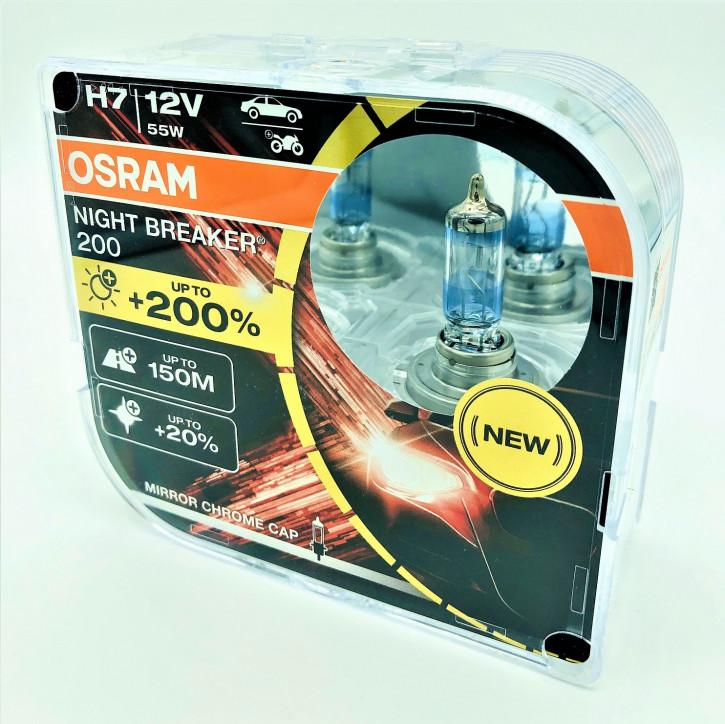 Osram Night Breacker bis zu 200% mehr Licht 2er Set