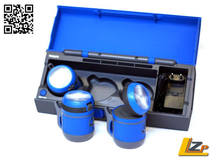 Philips Multidirektionales Beleuchtungssystem mit 3 LED Leucht-Modulen