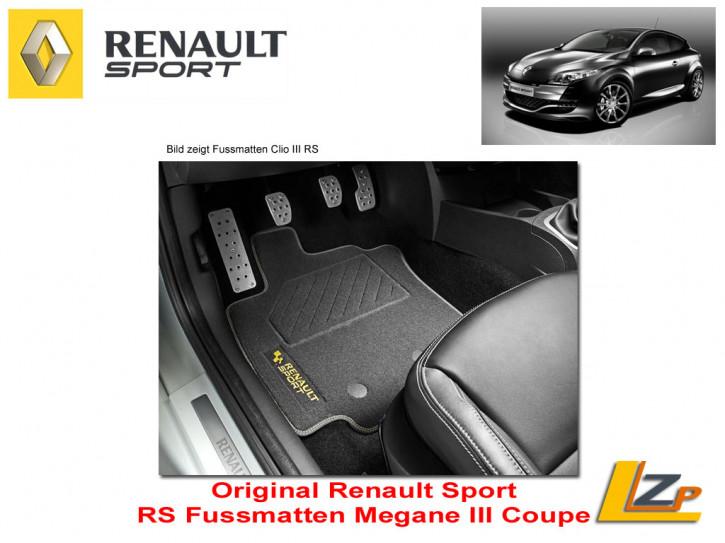 Original Renault Sport Fussmatten Megane III