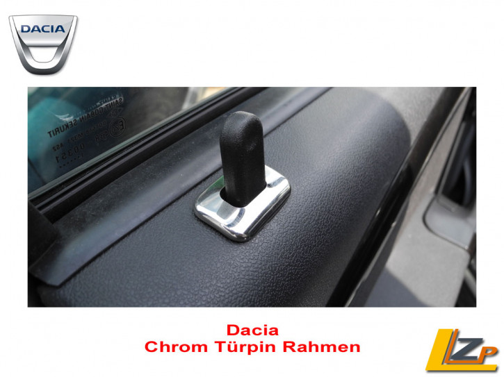 Dacia Chrom Türpin Rahmen Set