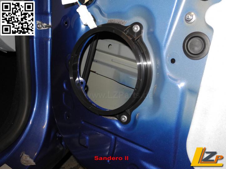 Lautsprecheradapter 165x20mm für Renault und Dacia