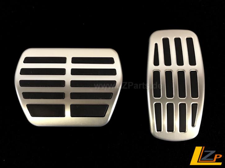 Aluminium Sportpedalauflagen für Renault Scenic IV und Espace V Automatikgetriebe