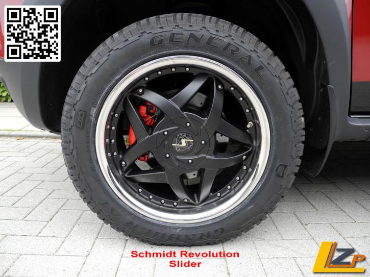 Schmidt Revolution Slider 8,5x17 ET35 für Dacia Duster