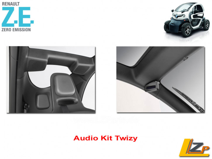Audio Kit Twizy Parrot MKI9100