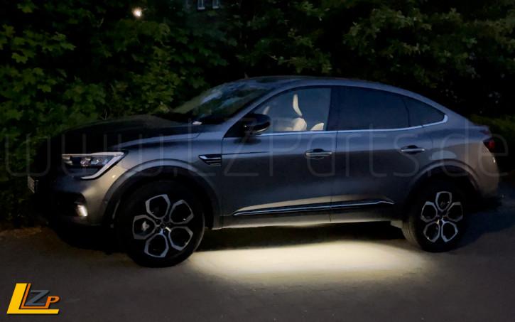 Renault Arkana LED Unterboden- Begrüßungslicht