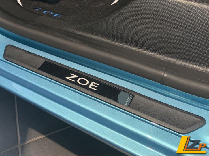 Renault Zoe Einstiegsleisten Schwarz