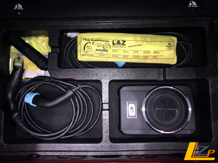 Renault Zoe Subwoofer Sound Upgrade Set Phase 1