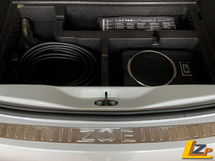 Renault Zoe Subwoofer Sound Upgrade Set Phase 2