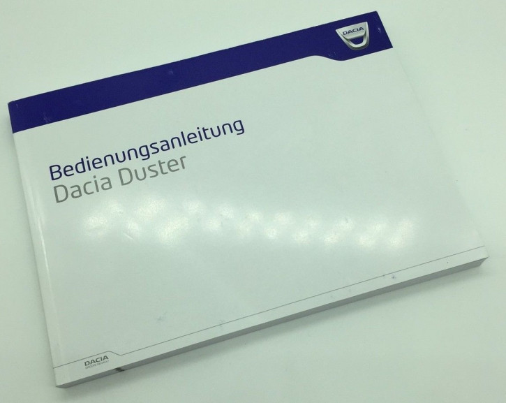Dacia Duster I (Phase 2) Bedienungsanleitung/Wartungsheft