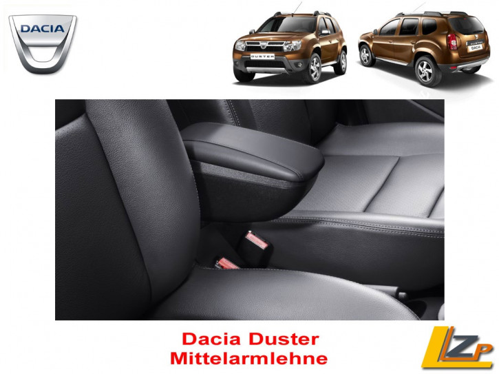 Dacia Duster I (Phase I & II) Mittelarmlehne mit Staufach Leder