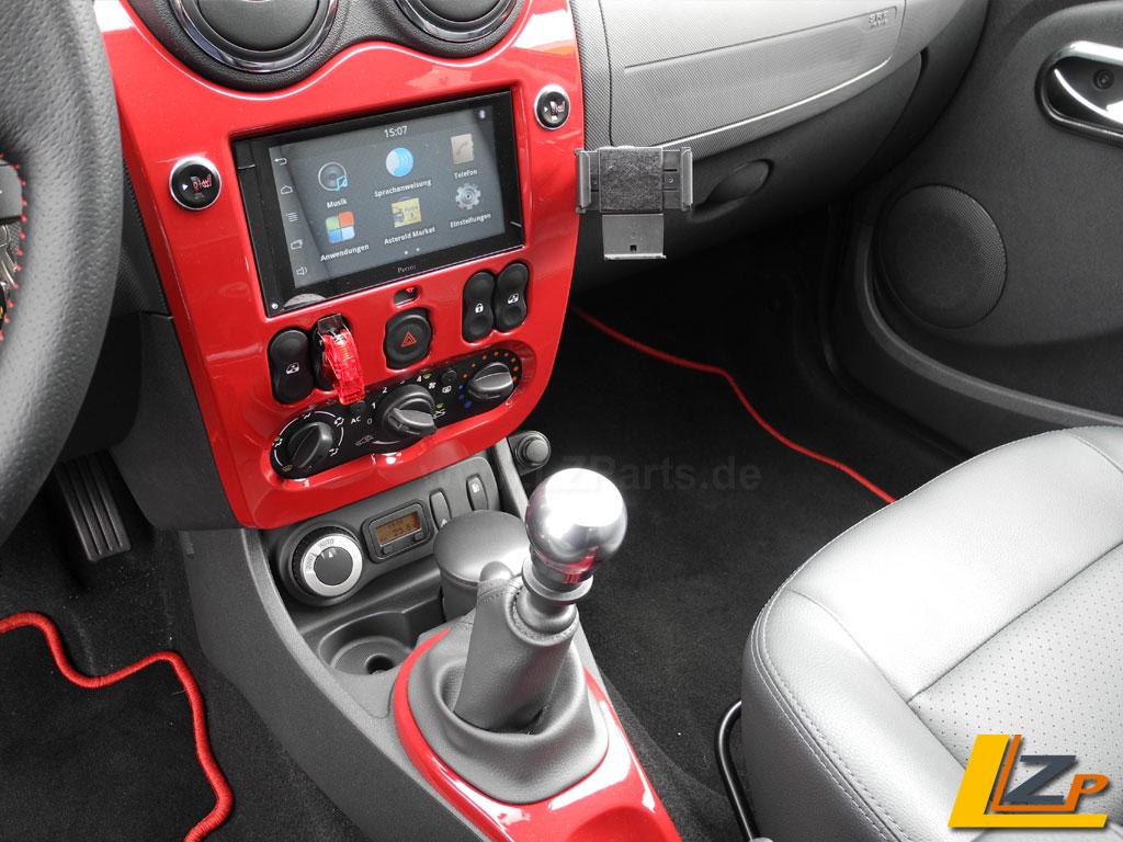 Dacia Radioblende Doppel DIN Blende-24618