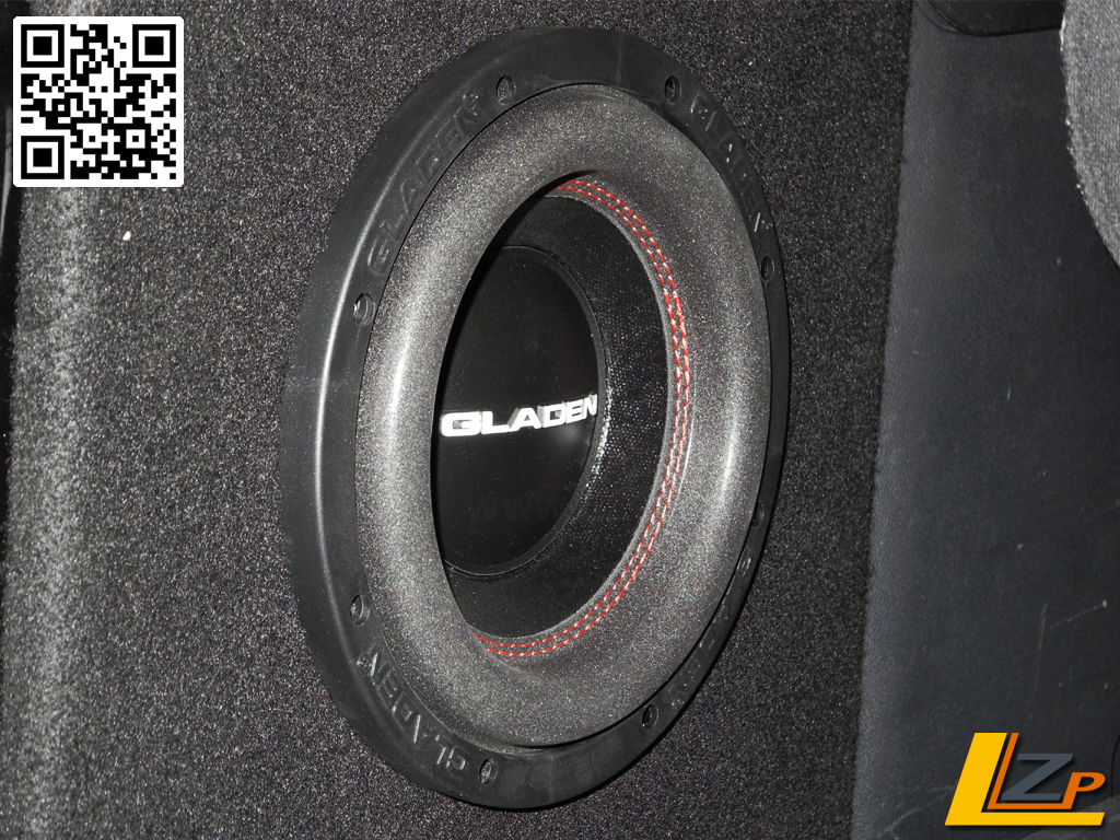 gladen rs x 08 20cm subwoofer chassis ga rsx08. Black Bedroom Furniture Sets. Home Design Ideas