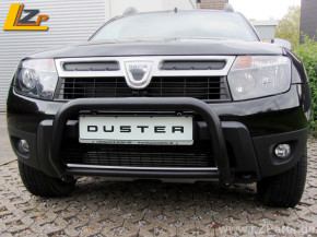 Dacia Duster Frontbügel von Antec Schwarz Pulverbeschichtet