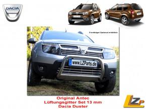 Dacia Duster Lüftungsgitter Set 2 Teilig Edelstahl poliert von Antec