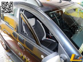 Dacia Sandero II Logan MCV II Regen- und Windabweiser vorn von Climair