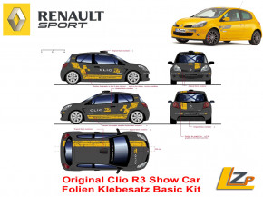Original Renault Clio III R3 Show Car Kit Basic