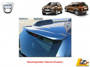 Dacia Duster Dachkanten Spoiler Heckspoiler Heckklappe