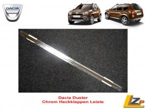 Dacia Duster Experience Chrom Heckleiste / Heckklappen Leiste