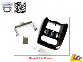 Dacia Radioblende Doppel DIN Blende