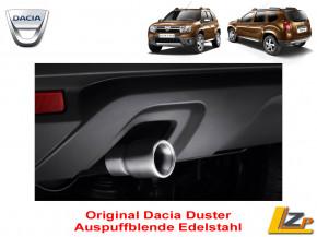 Dacia Auspuffblende Duster 45mm