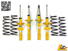 Dacia Duster 4x4 Offroad BILSTEIN B8 +10mm mit Eibach Pro Lift Kit +25mm