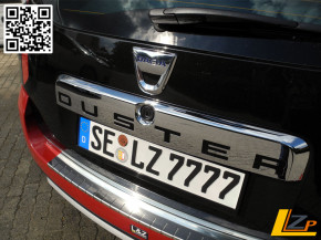 Dacia Duster Heckklappengriff Chrom