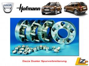 Dacia Duster Spurverbreiterung 2 x 18mm (36mm) für eine Achse von Hofmann