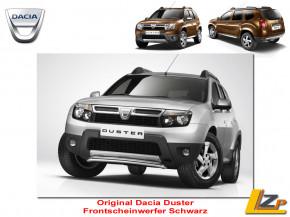 Dacia Duster Frontscheinwerfer Set Schwarz