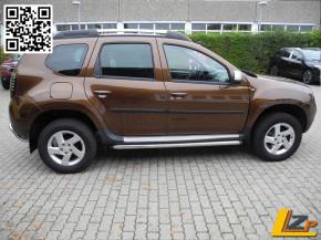 Dacia Duster Seitenschwellerrohre mit ABE