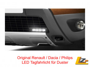 Dacia Duster Tagfahrlicht Philips LED DayLight 4 Click