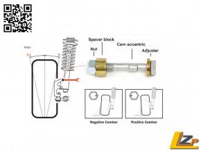 H&R Triple C Exzenter-System Sturzjustierung