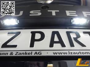 Dacia Renault LED Kennzeichenbeleuchtung