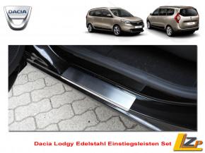 Dacia Lodgy Edelstahl Einstiegsleisten Set