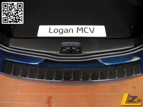 Dacia Logan MCV II Ladekantenschutz außen Schwarz