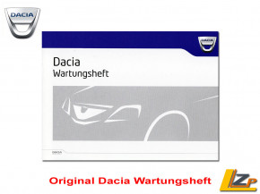 Original Dacia Wartungsheft DE
