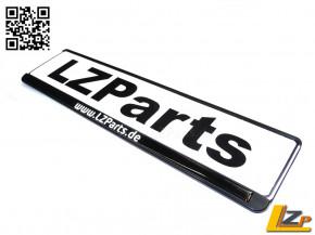 Logo Marke LZParts 485 x 16 Gel Kennzeichenleisten Aufkleber
