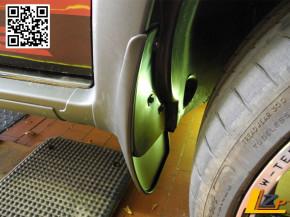 Dacia Duster I Schmutzfänger vorn Sondermodell Destination