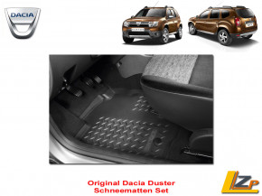Dacia Duster Schneematten Set 4x2