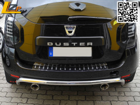 Dacia Duster Chrom Heckschutzbügel