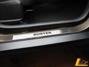 Dacia Duster II Edelstahl Einstiegsleisten Set