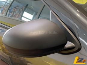 Dacia Duster II Original Kunststoff Spiegelkappen Schwarz Matt