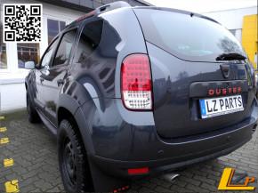 Dacia Duster Full LED Rückleuchten Set Bi-Color + LED Bremsleuchte Dacia Duster