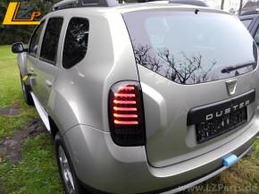 Dacia Duster Voll LED Rückleuchten Schwarz / Black