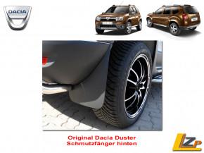 Dacia Duster Schmutzfänger Set hinten