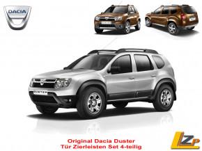 Dacia Duster Seitenschutzleisten / Zierleisten Set 4-teilig