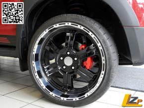 Sport-Bremsscheibe Gelocht Dacia Duster 1.5 dCi und 1.2 TCe