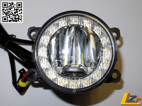 Kombi TFL / NSW Scheinwerfer LED Ring Tagfahrlicht und Nebelscheinwerfer