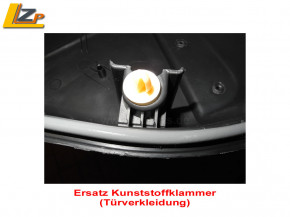 Ersatz Kunsstoffklammer Dacia / Renault
