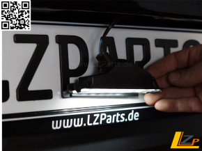 Dacia Sandero II Phase I Zentrale LED Kennzeichenleuchte